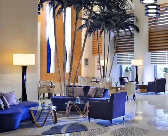 Millenium Hotels Resort lobby area