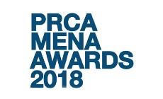 PRCA Mena Awards 2018 logo