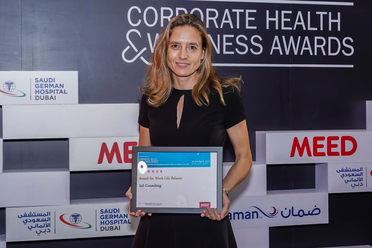 In2 Consulting wins at Daman Corporate Health & Wellness Awards 2019