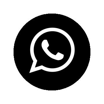 WhatsApp Black logo