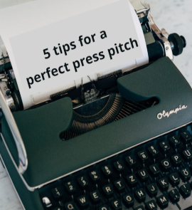 PR 101: 5 Tips For Crafting The Perfect Press Pitch